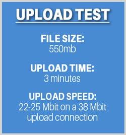 Acronis upload test