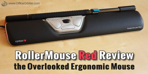 RollerMouse Red Review – the Overlooked Ergonomic Mouse