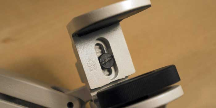 Detachable, adjustable upper clamp