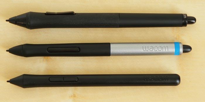 Wacom pen examples