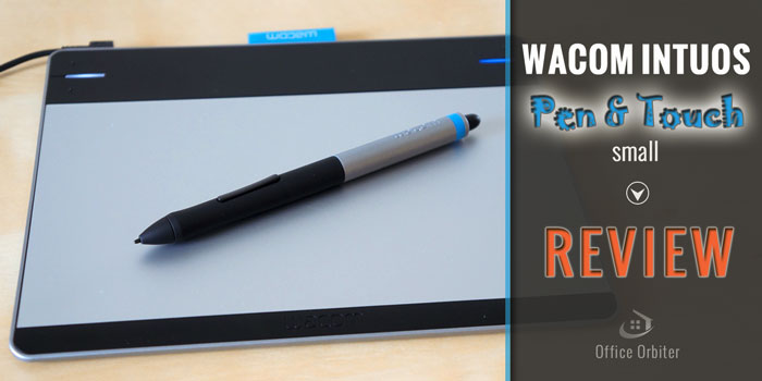 Wacom Intuos Pen and Touch Small Tablet Review CTH-480