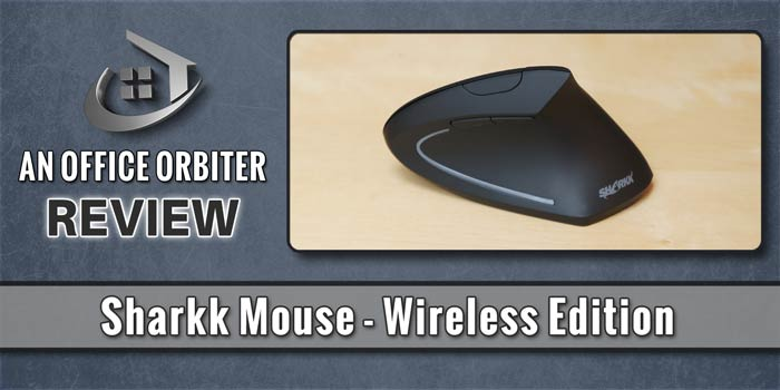 Sharkk Mouse Review. An Ergonomic Mouse with Real Bite!