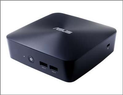 Asus VivoMini UN65U is a quiet mini-pc